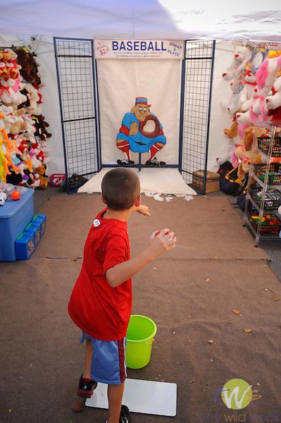 32nd Annual Selinsgrove Market Street Festival. Baseball throw game.