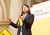 a public meeting on Brexit with Sarah Olney Liberal Democrat candidate in the Richmond Park by election at Christ Church, New Malden, Surrey, Great Britain <br /> 26th November 2016 <br /> <br /> <br /> Sarah Olney <br /> <br /> Photograph by Elliott Franks <br /> Image licensed to Elliott Franks Photography Services