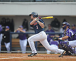 Ole Miss' Preston Overbey (1) vs. Lipscomb at Oxford-University Stadium in Oxford, Miss. on Saturday, March 9, 2013. Ole Miss won 8-5. The win was the 486th for Mike Bianco as the Rebel head coach, making him the university's all time winningest baseball coach.