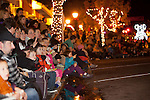Rows of guests lined the sidewalks of downtown Los Altos to enjoy the Los Altos Festival of Lights Parade.