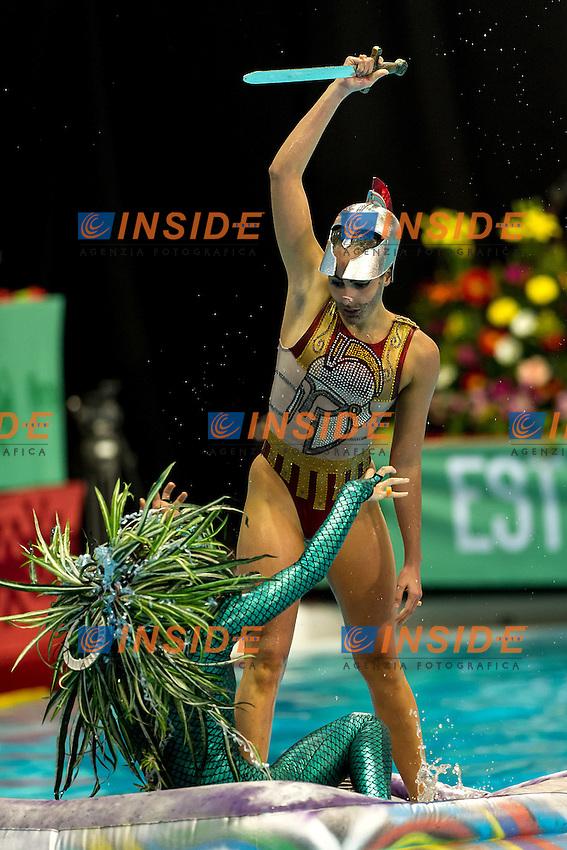 Evangelia Koutidi , Evangelia Platanioti Greece<br /> 8th FINA Synchronised Swimming World Trophy <br /> Day01 Nov. 29 -  Thematic duet<br /> Mexico City 29 November - 1 December<br /> Photo G.Scala/Deepbluemedia.eu/Insidefoto