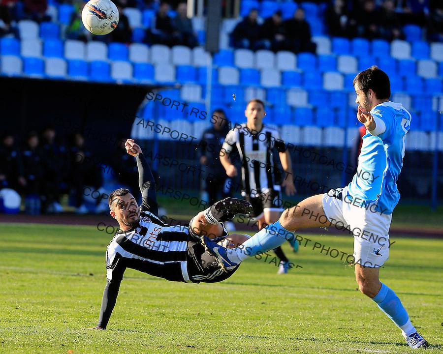 Fudbal Jelen Super League season 2015-2016<br /> Spartak v Partizan<br /> Valeri Bozhinov (Bojinov) (L)<br /> Subotica, 29.11.2015.<br /> foto: Srdjan Stevanovic/Starsportphoto&copy;
