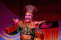 London, UK. 01/12/2011. Aladdin opens at the Lyric Hammersmith. Simon Kunz as Abanazer. Photo credit: Jane Hobson