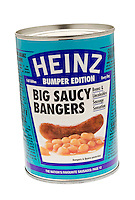 Tin of Heinz Big Saucy Bangers - Jan 2012