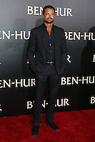 """HOLLYWOOD, CA - AUGUST 16: David Charvet at the LA Premiere of the Paramount Pictures and Metro-Goldwyn-Mayer Pictures title """"Ben-Hur"""", at the TCL Chinese Theatre IMAX on August 16, 2016 in Hollywood, California. Credit: David Edwards/MediaPunch"""
