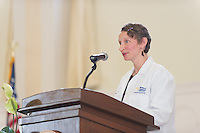 Christa Zehle, M.D. Class of 2017 White Coat Ceremony.