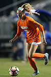 15 October 2016: Virginia's Alissa Gorzak. The Duke University Blue Devils hosted the University of Virginia Cavaliers at Koskinen Stadium in Durham, North Carolina in a 2016 NCAA Division I Women's Soccer match. Duke won the game 1-0.
