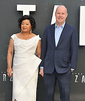 Yvonne Walcott &amp; David Yates at the &quot;The Legend of Tarzan&quot; European film premiere, Odeon Leicester Square, Leicester Square, London, England, UK, on Tuesday 05 July 2016.<br /> CAP/CAN<br /> &copy;Can Nguyen/Capital Pictures /MediaPunch ***NORTH AND SOUTH AMERICAS ONLY***