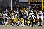 PITTSBURGH, PA - JANUARY 23: Ben Roethlisberger #7 of the Pittsburgh Steelers gestures to the crowd after defeating the New York Jets in the AFC Championship Playoff Game at Heinz Field on January 23, 2011 in Pittsburgh, Pennsylvania. The Steelers defeated the Jets 24 to 19. (Photo by: Rob Tringali) *** Local Caption *** Ben Roethlisberger