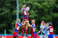 Michal Novak of the Czech Republic in action. FISU World University Championship Rugby Sevens Men's 7th/8th/9th place play-off match between the Czech Republic and Argentina on July 9, 2016 at the Swansea University International Sports Village in Swansea, Wales. Photo by: Patrick Khachfe / Onside Images