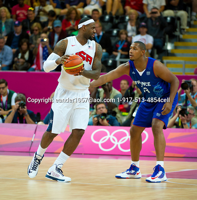2012 Olympic Games USA Men's Basketball 98 France 71 London 2012 July 29, 2012