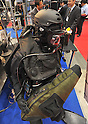 October 19, 2011, Tokyo, Japan - Diving equipment for security and infiltration is displayed during Risk Management Expo in Tokyo on Wednesday, October 19, 2011. Members of domestic and foreign law enforcement communities were among visitors to the annual security and safety trade show that covered the fields of safety, risk and crisis management, and security and crime prevention. (Photo by Natsuki Sakai/AFLO) [3615] -mis-