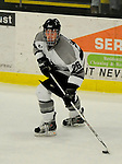 1 December 2007: Providence College Friars' forward Ian O'Connor, a Freshman from Londonderry, NH, in action against the University of Vermont Catamounts at Gutterson Fieldhouse in Burlington, Vermont. The Friars defeated the Catamounts 4-0 in front of a capacity crowd of 4003, for the 64th consecutive sell-out at Gutterson...Mandatory Photo Credit: Ed Wolfstein Photo