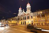 Das b&ouml;hmische Pilsen ist 2015 neben dem belgischen Mons, die Kulturhauptstadt Europas. Die Stadt des Biers wandelt sich zur europ&auml;ischen Kulturhauptstadt. <br /> Bild: Die Gro&szlig;e Synagoge in Pilsen ist Europas zweitgr&ouml;&szlig;te Synagoge (nach der Gro&szlig;en Synagoge in Budapest) und die drittgr&ouml;&szlig;te der Welt.