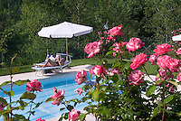 Maiella National Park, Abruzzo, Italy, June 2008. Camping Colle dei Lupi in San Giacomo Santa Eufemia A Maiella boasts a swimmingpool. Photo by Frits Meyst/Adventure4ever.com