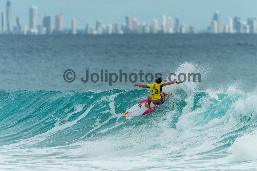 Snapper Rocks, COOLANGATTA, Queensland/AUS (Wednesday, March 16, 2016) Carissa Moore (HAW) - Australian surfers Matty Wilkinson (AUS) and Tyler Wright (AUS) made it an Aussie double when he Quiksilver and Roxy Pro Gold Coast,  wrapped up today  with  in clean three-to-five foot (1 - 1.5 metre) waves at Snapper Rocks.<br /> <br /> Wilkinson defeated Kolohe Andino (USA) in the Quiksilver Pro while Wright just got past Courtney Conlogue (USA). <br />  .Photo: joliphotos.com