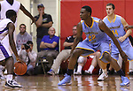 Andrew Wiggins guards a player at Scott County High School in Lexington, Ky., on Sunday, November 18, 2012. Photo by Tessa Lighty | Staff