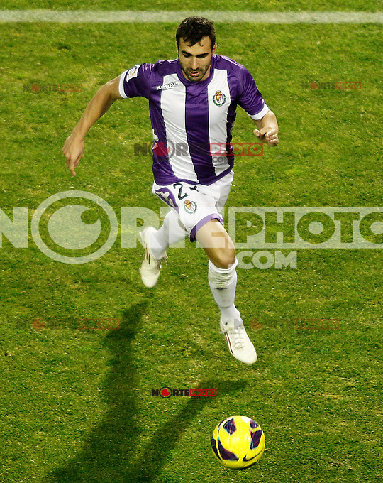 Real Valladolid's Mikel Balenziaga during La Liga match.December 22,2012. (ALTERPHOTOS/Acero) /NortePhoto