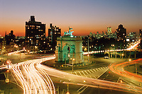 Grand Army Plaza, designed by Olmsted & Vaux, Brooklyn, New York City, New York