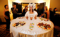 TALLAHASSEE, FL 10/15/09-DUVAL CH-Guests enjoy the grand opening festivities at the Hotel Duval, Oct. 15, 2009 in Tallahassee. ..COLIN HACKLEY PHOTO