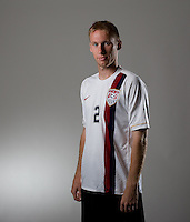 Tim Ward. U20 men's national team portrait photoshoot before the start of the FIFA U-20 World Cup in Canada. June 22, 2007.