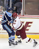 Gustav Nyquist (Maine - 89), Patrick Wey (BC - 6) - The Boston College Eagles defeated the visiting University of Maine Black Bears 4-1 on Sunday, November 21, 2010, at Conte Forum in Chestnut Hill, Massachusetts.