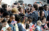 Prime Minister Justin Trudeau of Canada shakes hands with guests during an Official Arrival ceremony a the White House, March 10, 2016 in Washington, D.C.  <br /> Credit: Olivier Douliery / Pool via CNP