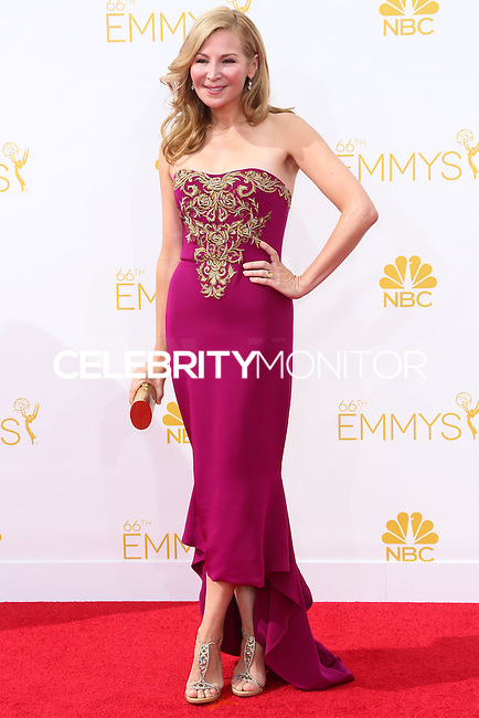 LOS ANGELES, CA, USA - AUGUST 25: Actress Jennifer Westfeldt arrives at the 66th Annual Primetime Emmy Awards held at Nokia Theatre L.A. Live on August 25, 2014 in Los Angeles, California, United States. (Photo by Celebrity Monitor)