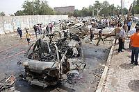 04/04/10 Bombs blast Baghdad