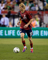 Brek Shea. The USMNT tied Mexico, 1-1, during their game at Lincoln Financial Field in Philadelphia, PA.