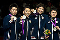2012 Olympic Games - Fencing - Men's Team Foil medal ceremony