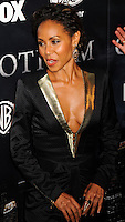 NEW YORK CITY, NY, USA - SEPTEMBER 15: Jada Pinkett Smith arrives at the New York Series Premiere Of 'Gotham' held at the New York Public Library on September 15, 2014 in New York City, New York, United States. (Photo by Celebrity Monitor)