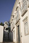 Galeria Palace, Tavira Municipal Museum with Clock Tower, Tavira, Algarve, Portugal