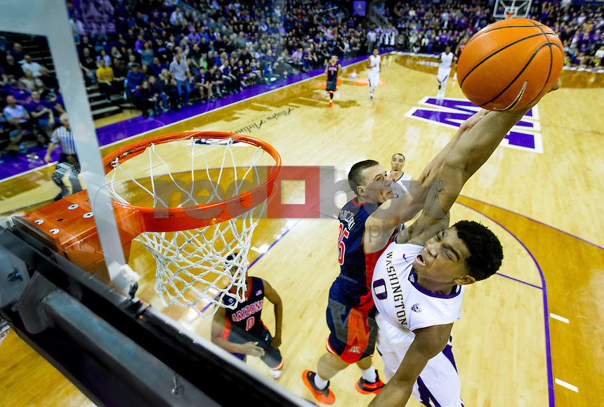 University of Washington freshman forward Marquese Chriss has decided to enter the NBA draft after his freshman year at the UW. (Photography by Scott Eklund/Red Box Pictures)