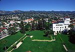 View from Courthouse in Santa Barbara