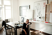 Elena Selina, art manager, art critic, director and the owner of XL-gallery in Moscow, Russia