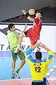 Kota Ozawa (JPN), OCTOBER 31, 2011 - Handball : Kota Ozawa of Japan plays during the Asian Men's Qualification for the London 2012 Olympic Games semifinal match between Japan 22-21 Saudi Arabia in Seoul, South Korea.  (Photo by Takahisa Hirano/AFLO)