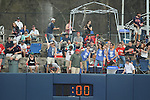 Ole Miss students celebrate a home run vs. Lipscomb at Oxford-University Stadium in Oxford, Miss. on Saturday, March 9, 2013. Ole Miss won 8-5. The win was the 486th for Mike Bianco as the Rebel head coach, making him the university's all time winningest baseball coach.