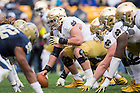Nov. 7, 2015; Center Nick Martin (72) in action against Pitt. (Photo by Matt Cashore)