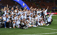 FUSSBALL  CHAMPIONS LEAGUE  FINALE  SAISON 2015/2016   Real Madrid - Atletico Madrid                   28.05.2016 Real Madrid gewinnt die Champions League