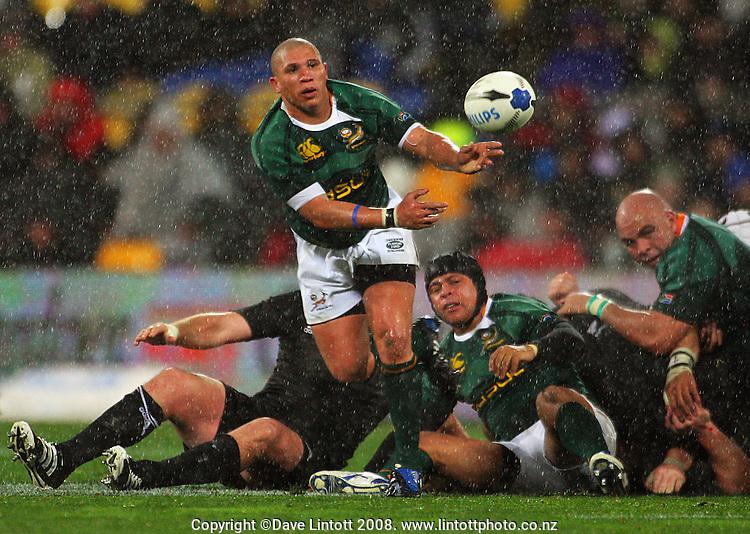 tri nations all blacks v south africa 5 july 2008