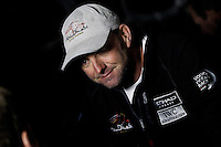 UAE. 4th January 2012. Volvo Ocean Race, Leg 2, arrival into Abu Dhabi. Arrivals ceremony. Ian Walker, Skipper Abu Dhabi Ocean Racing.