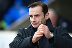 St Johnstone v St Mirren.....23.02.13      SPL.Danny Lennon.Picture by Graeme Hart..Copyright Perthshire Picture Agency.Tel: 01738 623350  Mobile: 07990 594431