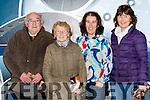 Sean and Maureen O'Neill, Fiona O'Donoghue and Judy O'Mahony at the screening of The Dawn in Killarney cinema on Tuesday night