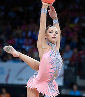 September 11, 2015 - Stuttgart, Germany - MELITINA STANIOUTA of Belarus performs during AA final at 2015 World Championships.