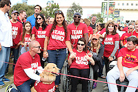 LOS ANGELES, CA - OCTOBER 16: Coco Arquette, Courteney Cox, Jay Schwartz, Freinds, Nanci Ryder, Renee Zellweger, Kate Linder at the ALS Association Golden West Chapter Los Angeles County Walk To Defeat ALS at Exposition Park in Los Angeles, CA on October 16, 2016. Credit: David Edwards/MediaPunch