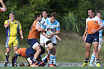 27 September 2014: North Carolina's George Simpson. The University of North Carolina Tar Heels hosted the University of Virginia Cavaliers at Hooker Field in Chapel Hill, NC in a 2014-15 USA College Rugby match. North Carolina won the game 27-12.
