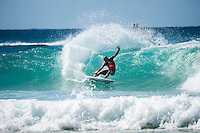 Snapper Rocks, Coolangatta, Queensland Australia. (Monday March 10, 2014) Kelly Slater (USA). –  The swell  was in the 3'-5' range all day from the SE. The Quiksilver Pro started at 11 am after the turn of the tide and Round 3 was completed. Photo: joliphotos.com