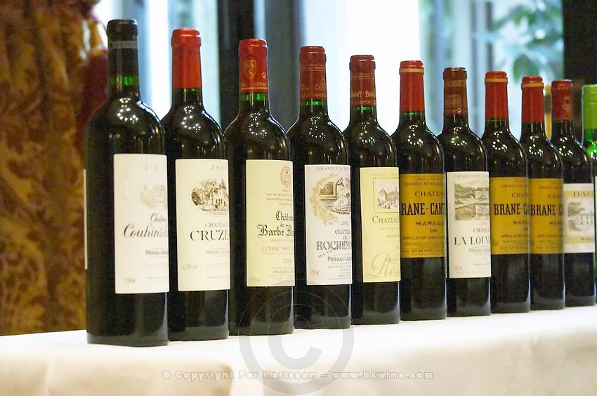 Lurton made wines: Cruzeau, Barbe Blanche, Rochemorin, couhins, Brane Cantenac... Bordeaux, France