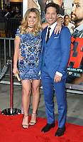 Richie Keen &amp; Brianna Brown at the world premiere for &quot;Fist Fight&quot; at the Regency Village Theatre, Westwood, Los Angeles, USA 13 February  2017<br /> Picture: Paul Smith/Featureflash/SilverHub 0208 004 5359 sales@silverhubmedia.com